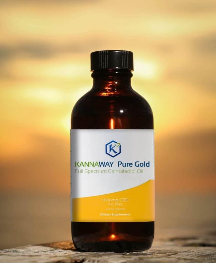 huile cbd kannaway pure gold