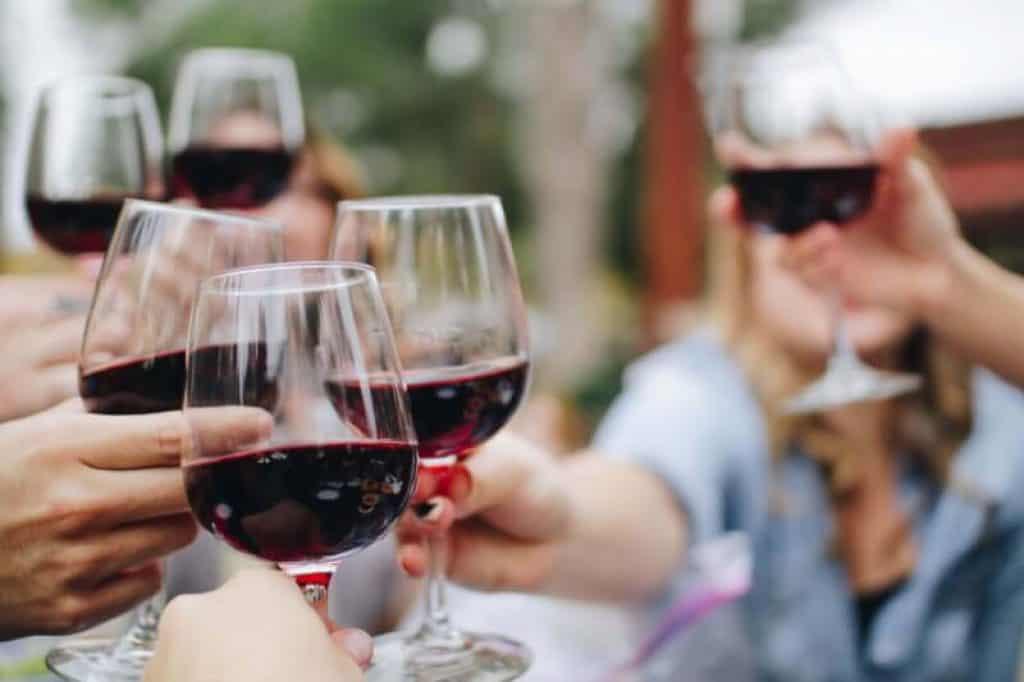 CBD et alcool vin