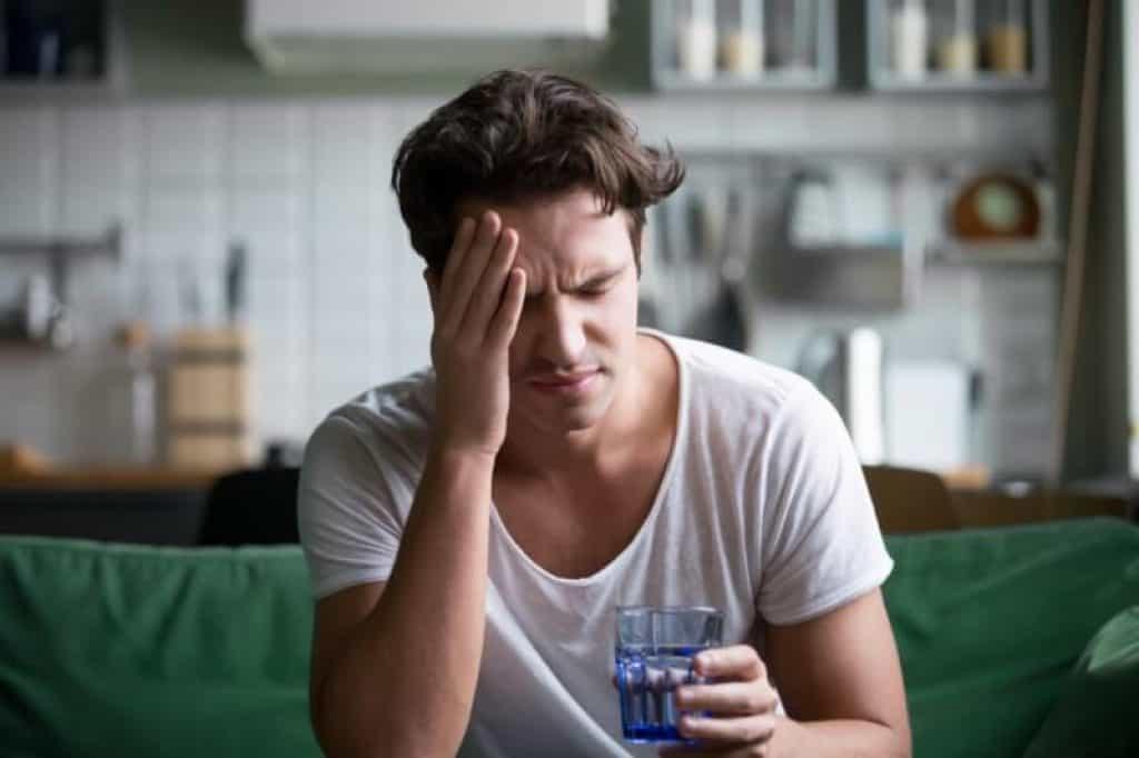 CBD contre la gueule de bois alcool