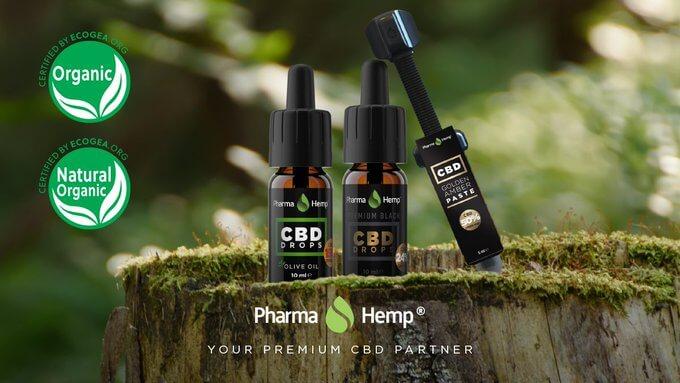 huile CBD PharmHemp