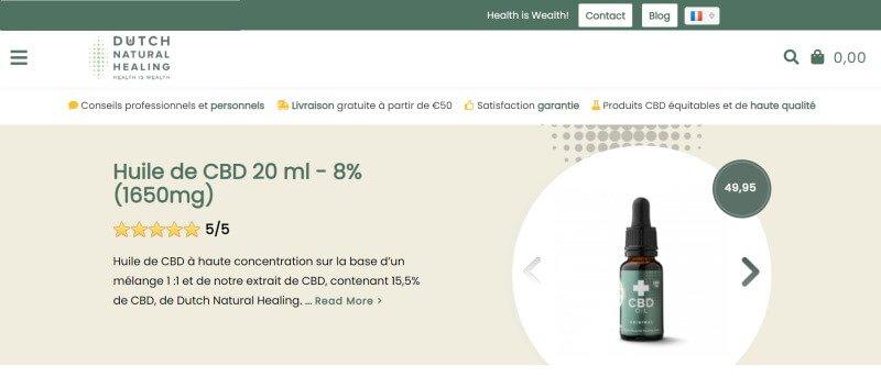 Dutch Natural Healings site web