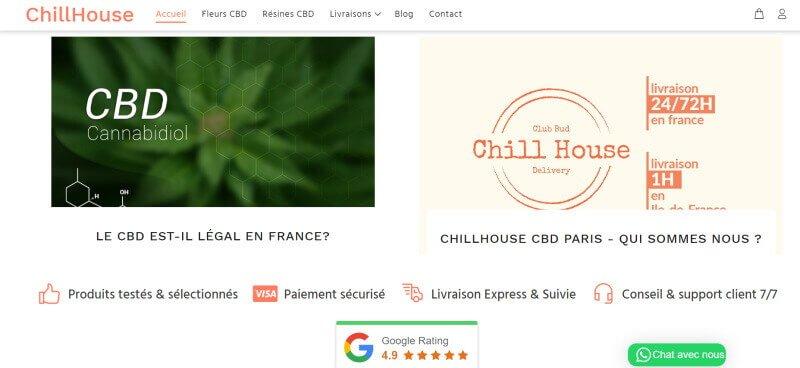 chillouse cbd website