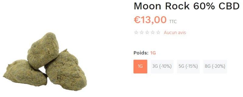 moonrock fleur cbd