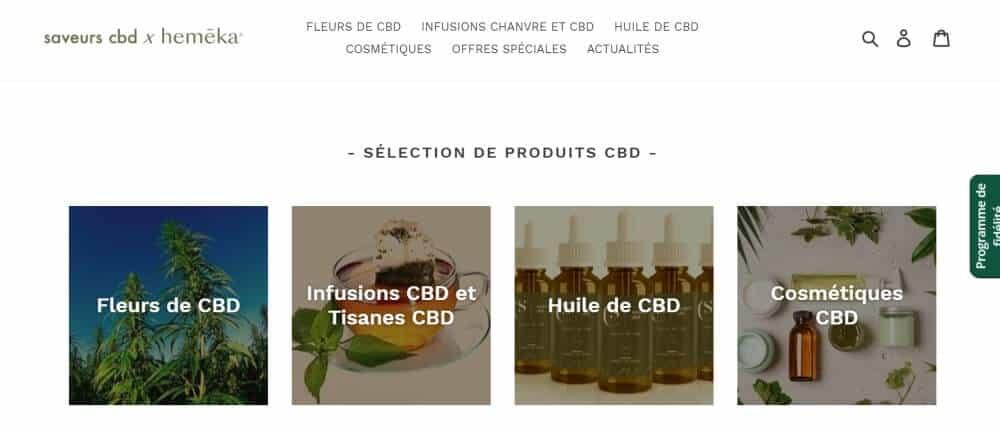 saveurs-cbd boutique CBD