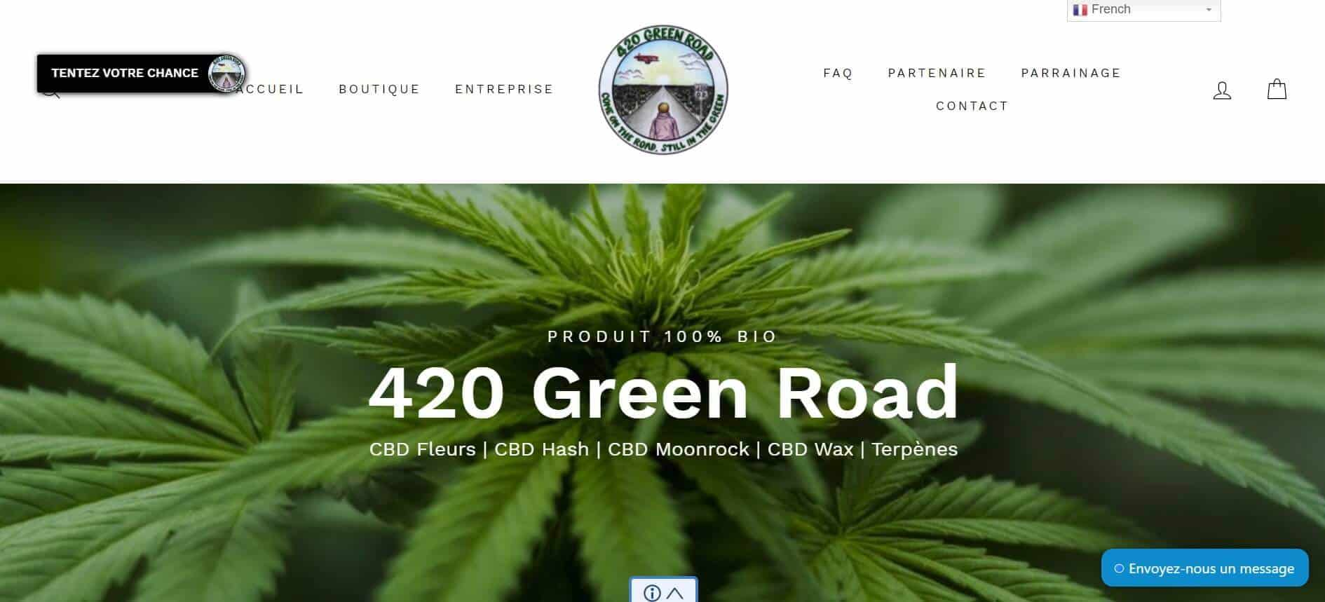 420 green road site web