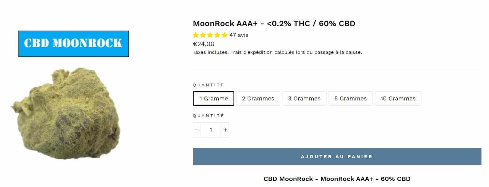cbd moonrock 420 green road