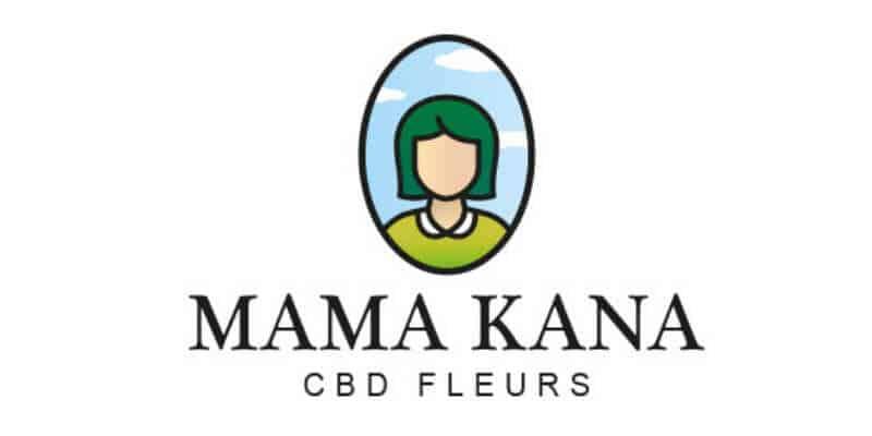 Mama kana fleur de CBD logo